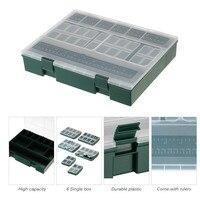 10 Fishing Box Gear Storage Box Fishing Lure Box Fishing Baits Case Portable Fishing Tackle Box