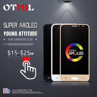 4.5AMOLED For SAMSUNG Galaxy J120 LCD DisplayTouch Touch Screen Digitizer For SAMSUNG J1 2016 Display J120F J120H J120M LCD #1