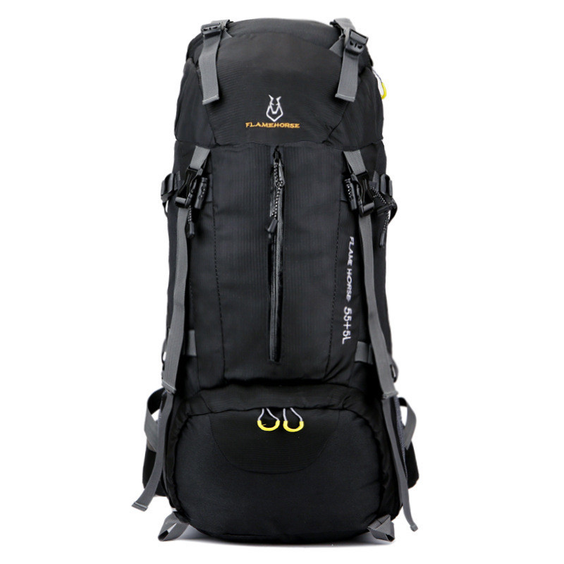 60L Large Capacity Men mountaineering Backpack Waterproof Travel Backpack Multifunctional Bags Male Laptop Backpacks mochila kerui pu mountaineering men s travel bags backpacks outdoor lesbian genuine large capacity