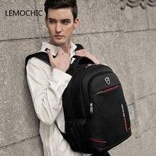 Lemochic New объявление большая емкость школьный Simple рюкзаки Твердые Оксфорд Дорожные сумки Mochila ноутбук водонепроницаемый рюкзак