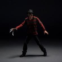 A Nightmare On Elm Street Freddy Vs Jason Action Figure Variant Freddy Krueger Doll PVC figure Toy Brinquedos Anime 17CM
