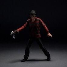 Un cauchemar sur orme Street Freddy Vs Jason figurine Variant Freddy Krueger poupée PVC figurine jouet Brinquedos Anime 17CM