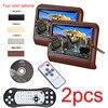 2pcs 9 Inch HD Monitor Car Headrest DVD Player Automotivo Multimedia Entertainment System Encosto De Cabeca