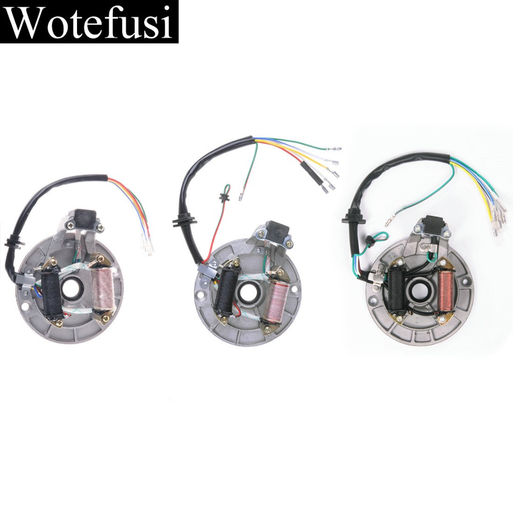Wotefusi For Stator Iginiton Magneto Plate For 50cc 90cc