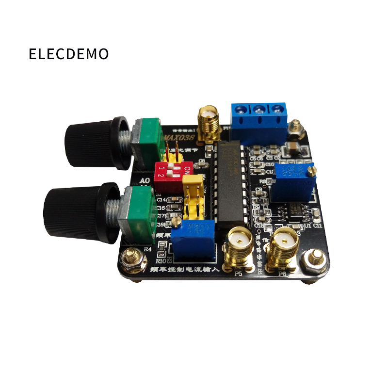 Image 2 - MAX038 module  triangle wave sine wave rectangular wave pulse wave generator module with post stage op amp Function demo board-in Demo Board Accessories from Computer & Office