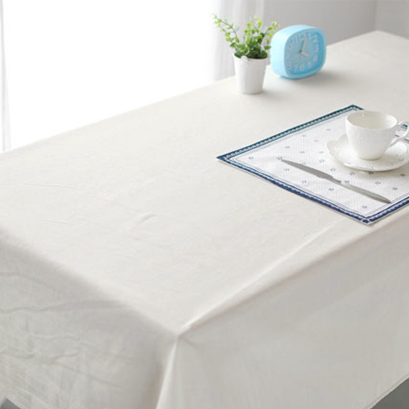 White Cotton Tablecloths