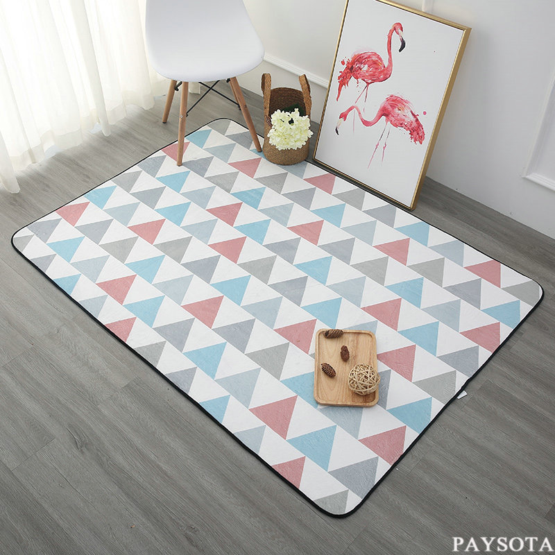 PAYSOTA Modern Living Room Carpet Bedroom Tea Table Rug Rectangular MatChina Mainland