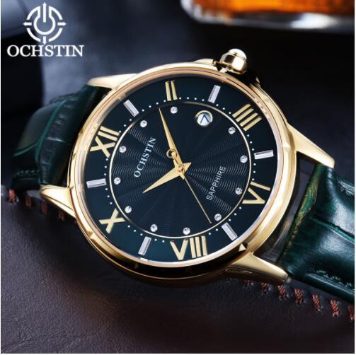 2019 femmes montres marque de luxe célèbre en cuir véritable japon mouvement montre-bracelet à Quartz femme automatique Date horloge Relogio Feminino - 5