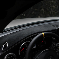 Car Styling Dashboard Mat Cover Dashmats Pad Fit For GLC GLASS GLC 200 250 260 300