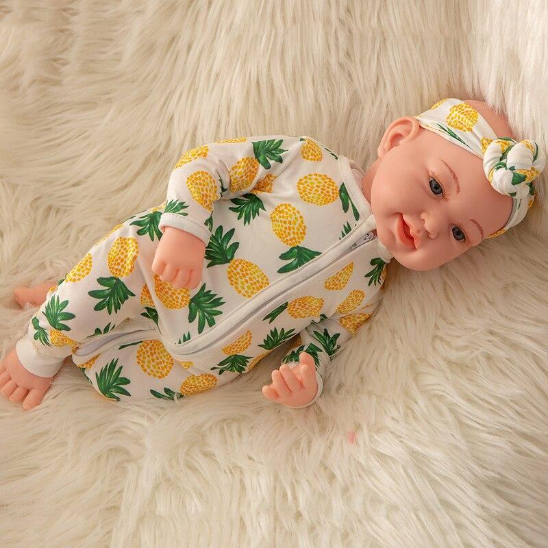 Offre spéciale 45 cm Silicone Reborn bébé poupées vivant réaliste réel poupées réaliste poupée Reborn bébé jouets bain Playmate cadeau