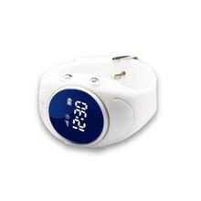 Impermeable IP68 LBS/WIFI/GPS ubicación rastreador gps reloj de pulsera