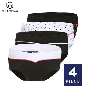 0fd4887a0 Ropa interior atractiva para mujeres embarazadas bragas Hipster  calzoncillos algodón suave sólido media cintura acogedor Retro de alta  calidad lindo