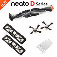 Neato Botvac Filtre Fırçası Kitleri ile Uyumlu için Neato Botvac Serisi D75 D80 D85, 70e 75 80 85