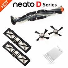 Vervanging Neato Botvac Filter Borstel Kits, Compatibel met Onderdelen voor Neato Botvac Serie D75 D80 D85, 70e 75 80 85