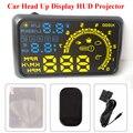 """5.5 """"Car HUD Head Up Display OBD2/EU-OBD montados en Vehículos Sistema de Seguridad Auto Consumo de Combustible Sobrevelocidad Advertencia Display HUD"""