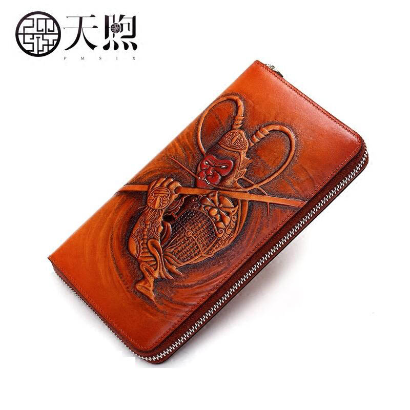 New women genuine leather bag famous brands fashion Carved long leather wallets women Clutch bag Men and women general purse famous brands small leather bag female genuine skin bag new arrivals women handbag fashion day clutch purse bag 2017 spring sac