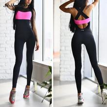 Shilanmei Women Ru Jumpsuit Active Wear Fitness Stretch Pants rompers womens jumpsuit Women Sleeve Playsuits Overalls Bodysuit