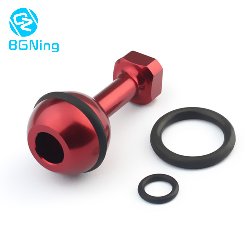 Aluminum 1/4 Inch Screw Ball Adaptor CNC Mount Adapter For GoPro 5 4 Session Sjcam Yi Action Camera Diving Photo Studio Kit