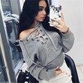 Женщины Sweatershirt Одежда Женщины Негабаритных Форме Крыла Летучей Мыши Рукав Вязаный Свитер Тонкий Бинты Топы Свободные Кардиган Верхней Одежды Пальто
