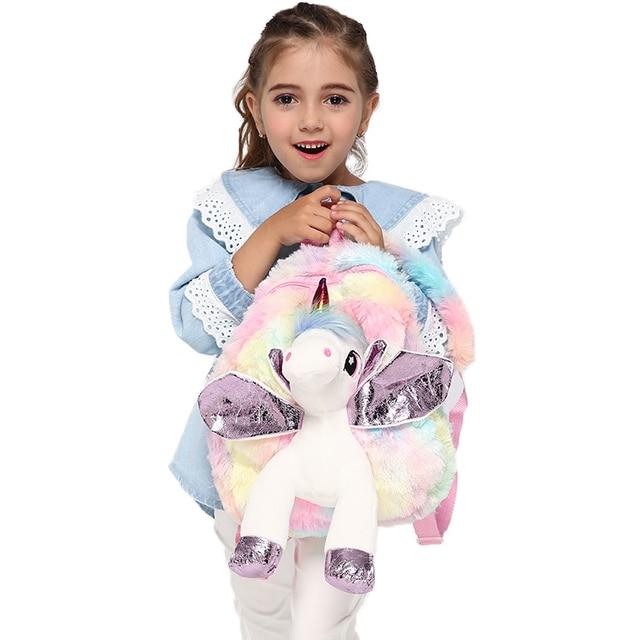 Tas Ransel Anak Boneka Unicorn  3