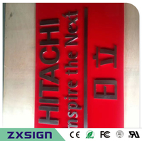 Factoy Outlet Outdoor Metal Sign Stainless Steel Sign Metal Letter