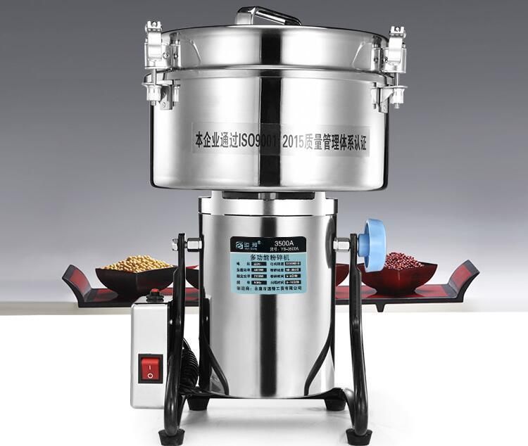 3500g High-speed Elektrische Körner Gewürze grinder, chinesische medizin Getreide Kaffee Trockenen Lebensmittel pulver brecher Mühle Maschine