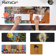 лучшая цена MaiYaCa New Design Dragon Ball Z Anime Comfort Mouse Mat Gaming Mousepad Free Shipping Large Mouse Pad Keyboards Mat