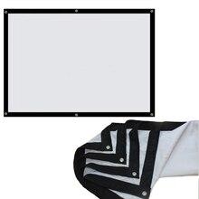 Wzatco отверстиями сложить проекционный рамки передняя продаж inch завод проектор ткани