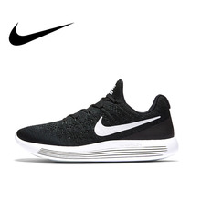 Original Authentic NIKE LUNAREPIC LOW FLYKNIT 2 Mens Running Shoes