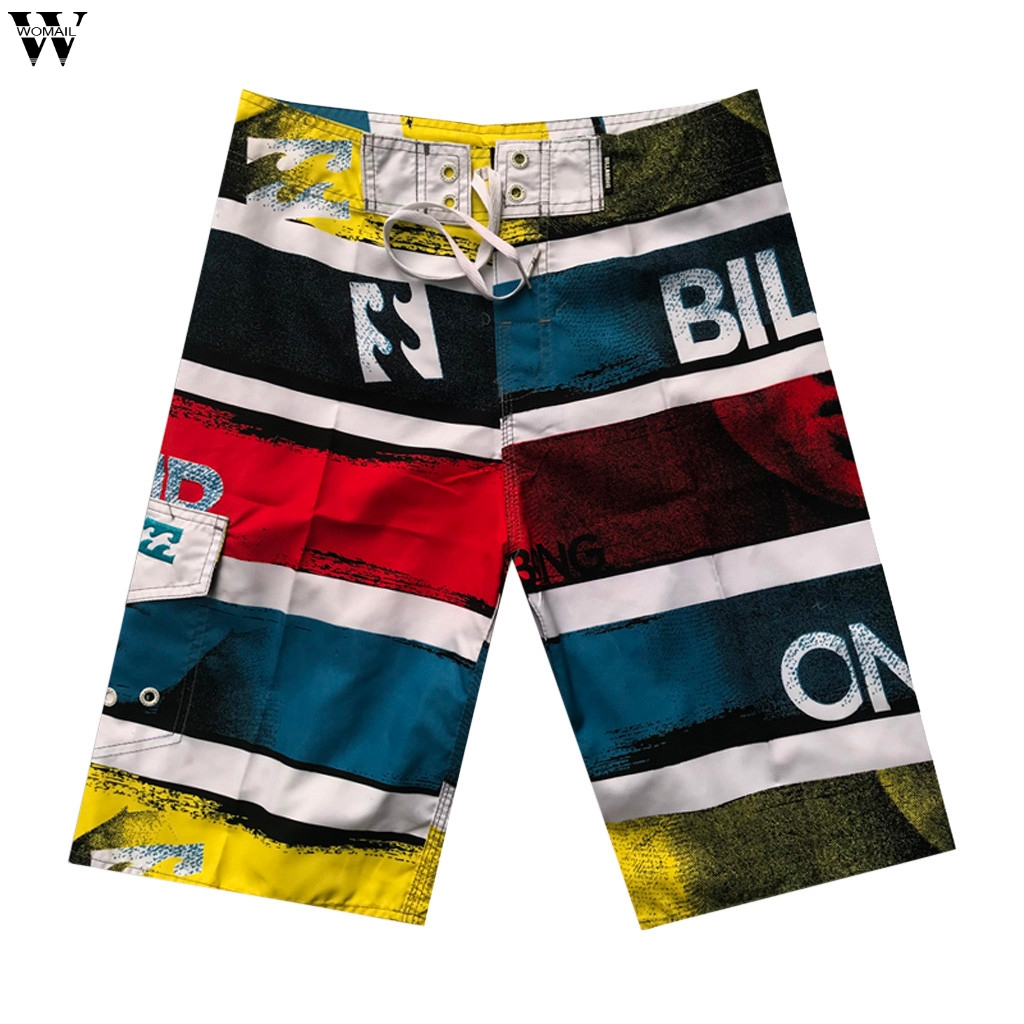 Men Women Board Shorts Summer Printed Beach Short Trunks Muliti Styles Boardshort