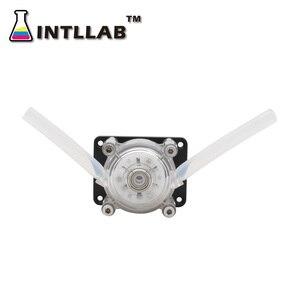 Image 3 - INTLLAB DIY Peristaltic Pump Dosing Pump 12V DC, High Flowrate for Aquarium Lab Analytical