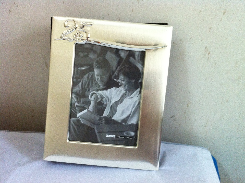 5X7 Anniversary Photo Album Silver Wedding Golden With Black PP Sleeve And Velvet Backing In Albums From Home