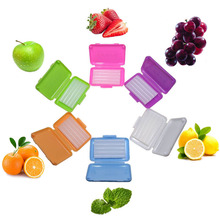 15 boxes/pack Dental Orthodontics Ortho Wax Green Blue Pink Apple Strawberry Mint Scent Flavor Edible and Safety