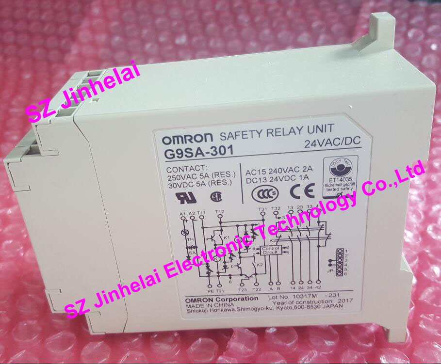 G9S-301 Omron Safety Relay Contact 24VDC NEW