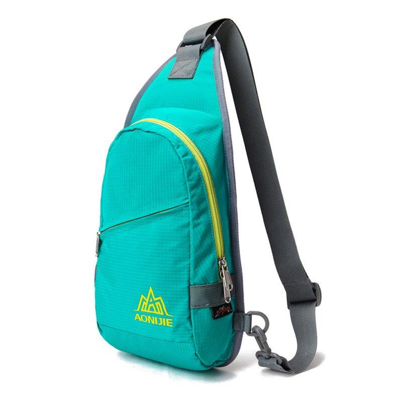 723989568f76 Конфеты цвет сумки женские спортивные один сумки Mochilas один ремешок  Пеший Туризм треугольник сумка Бесплатная доставка