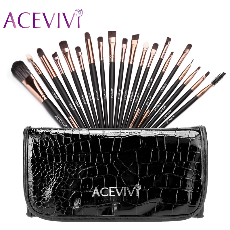 ACEVIVI 15 Colors Makeup Face Cream Concealer Palette + 20 PCS Powder Brushes + Carrying Bag o two o pressed powder hydrating enhance powder concealer cream brightening waterproof moisturizing powder 8colors