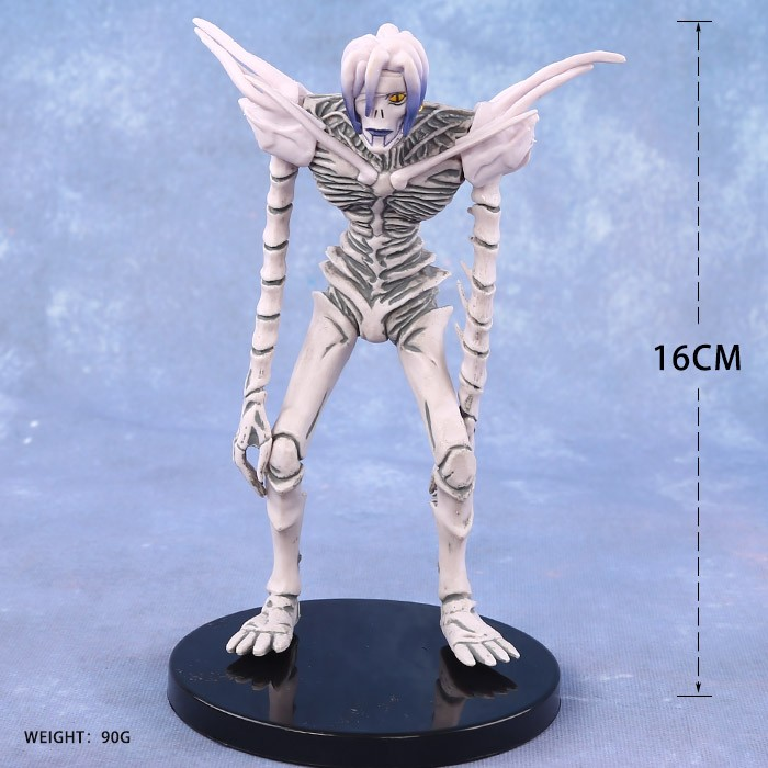 DEATH NOTE Rem PVC Action Figure Collectible Model Toy 16cm KT3133 2017 new death note l ryuuku ryuk pvc action figure anime collection model toy dolls 24cm