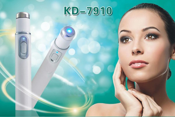 2015 New Electronic Blue Light Acne Removal Pen For Beauty Health Care Phototherapy thermal Soft Scar