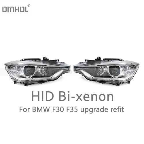Livraison gratuite pour BMW série 3 F30 F35 HID bi-xénon phare assemblage Refit halogène à Bixenon projecteurs mise à niveau