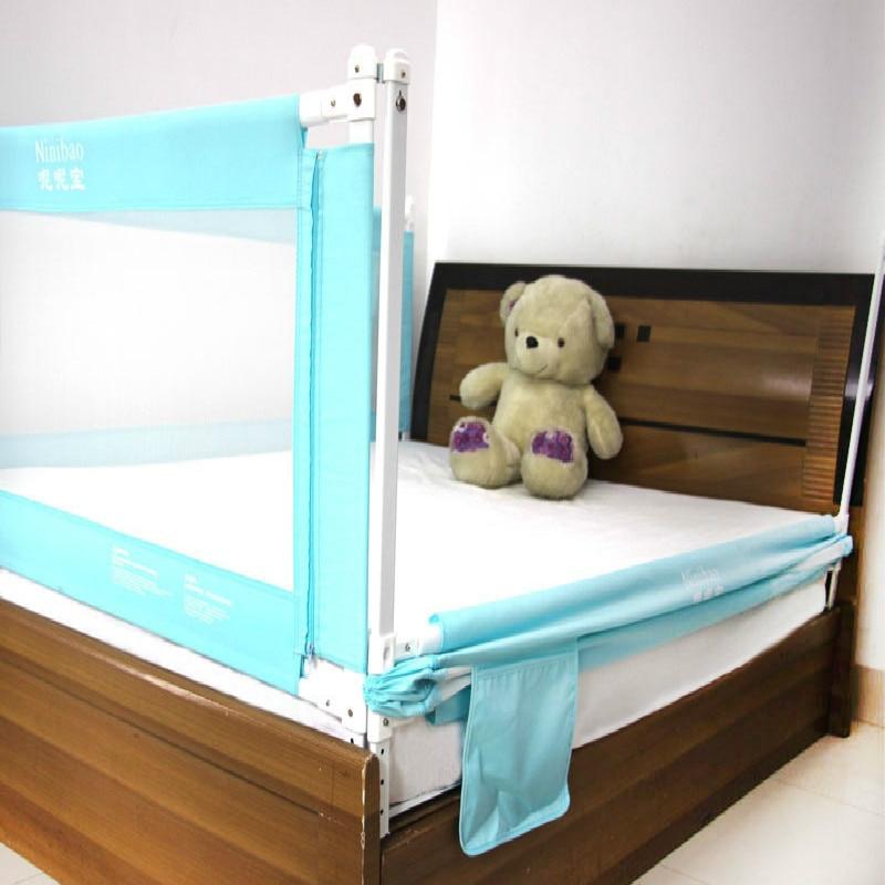 5 файлы Регулируемый ребенок забор, кроватки ограждение для анти-осень, вертикального подъема взрывоустойчивой перегородка 1,5/1,8/2 м Универс...