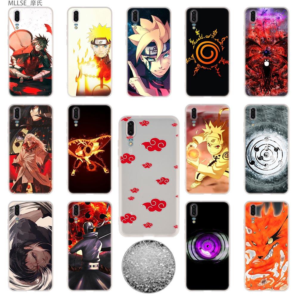 Vernuftig Anime Naruto Tpu Cover Telefoon Gevallen Zachte Voor Huawei P 20 Pro P10 Plus P9 P8 Lite 2017 P30 Pro Samrt 2019 Nova 3e