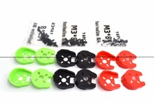 KINGKONG Universal Black Red Green Motor Cover Protection for 22 Series 2204 Motors with M3*8 Screw set  For RC Drone Quadcopter