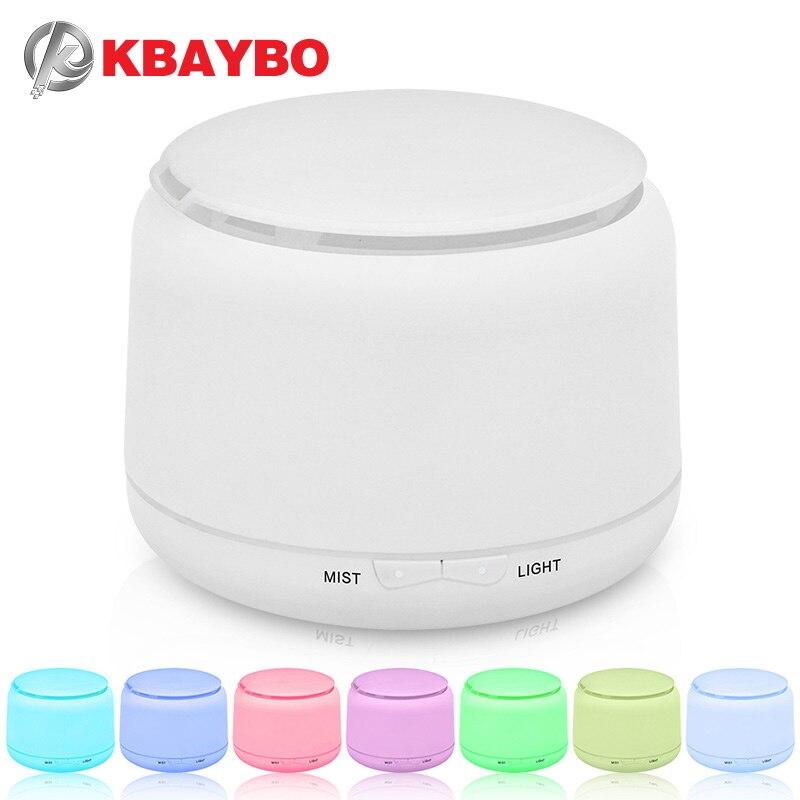 250ml Ultrasone Luchtbevochtiger Aroma Essentiële Olie Diffuser Mist Luchtbevochtiger aromatherapie diffuser met 7 kleuren LED