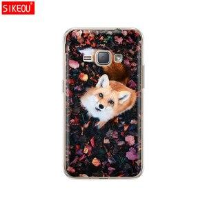 Image 5 - Mềm TPU Cho Samsung Galaxy J1 2016 J120 J120F SM J120F Lưng 360 Full Bảo Vệ In Trong Suốt Coque Hoa
