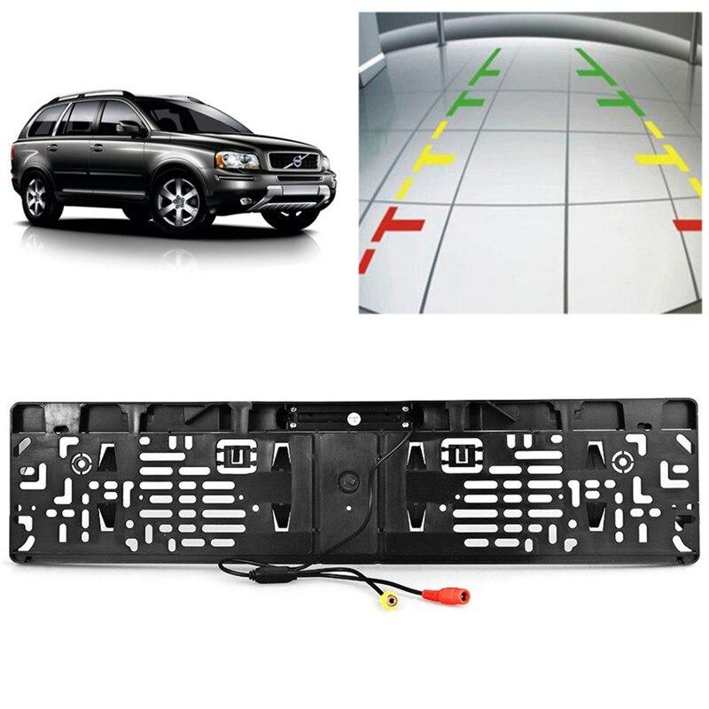 EU Car License Plate Frame Rear View Camera Waterproof 4 IR Light ...