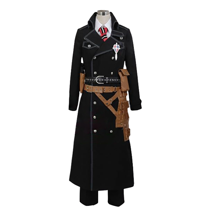 Ny Ao Ingen Exorcist Blå Exorcist Okumura Yukio Cosplay Kostym Set Version Custum Made