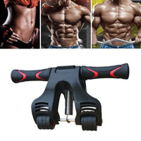 Muscle Three wheeled Updated Abdominal Wheel Roller Gym Fitness Equipment Trainning Crossfit Exercises Arm Leg Strengthing Gear