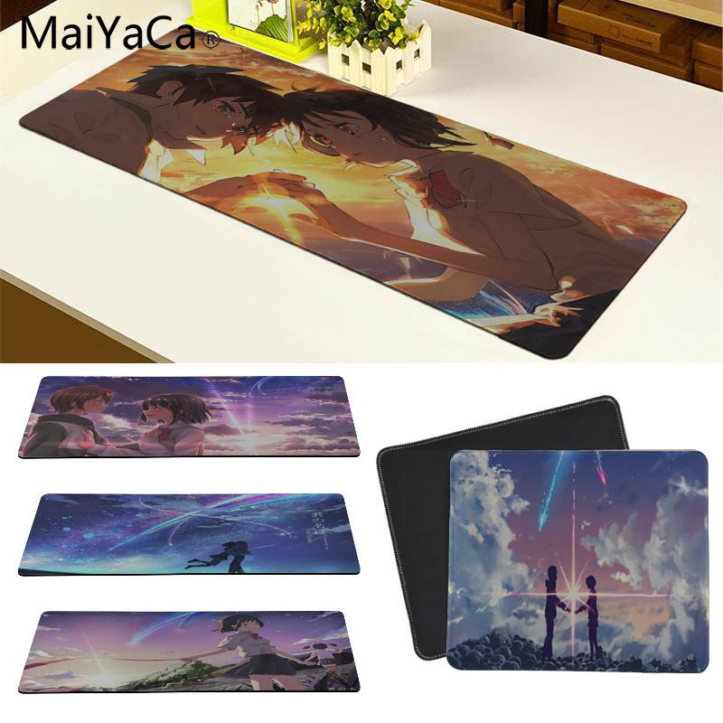 MaiYaCa My Favorite Anime Your name Customized laptop Gaming mouse pad Size for 18x22cm 20x25cm 25x29cm 30x60cm 30x90cm