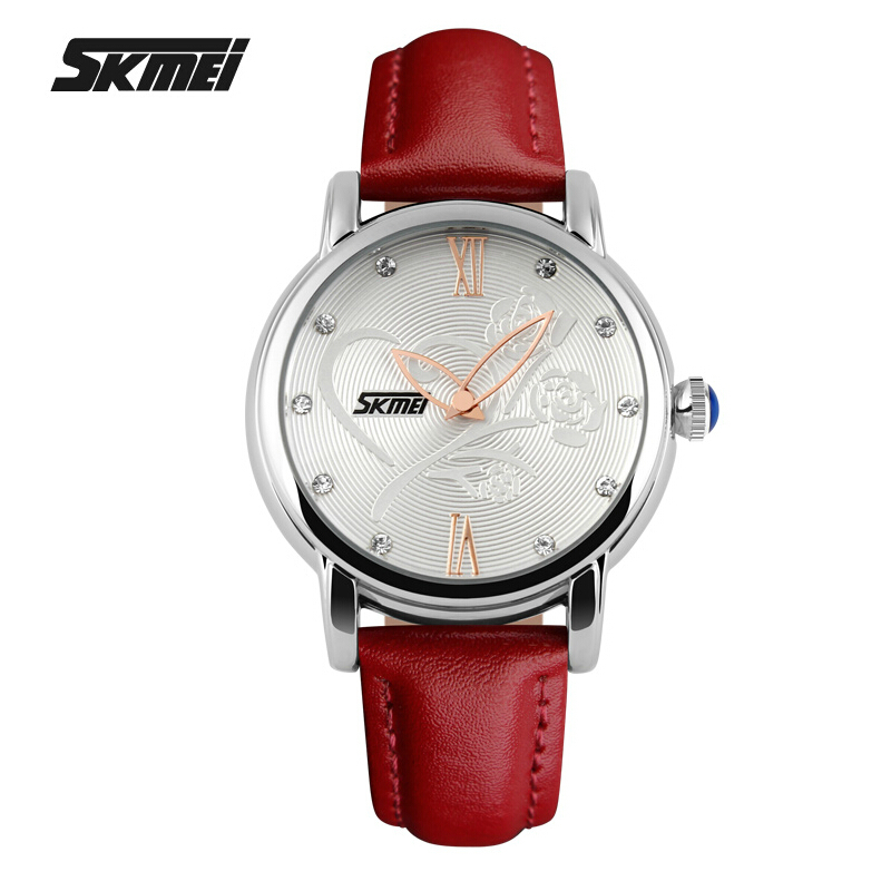 Fashion Casual Watch Women Waterproof Quartz Analog High Quality Leather Wrist Watches Camellia Rose Flower Women's Watches car styling tail lights for toyota camry v50 2012 2014 led tail lamp rear trunk lamp cover drl signal brake reverse