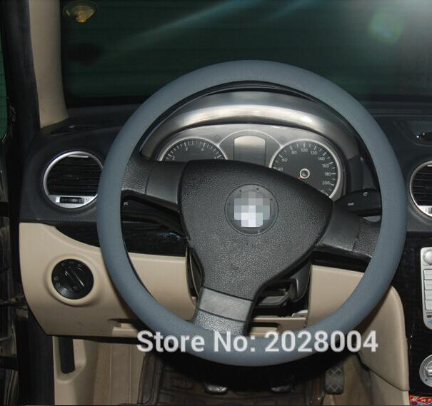 Accessories Car Silicone Steering Wheel Cover For Fiat Chrysler For